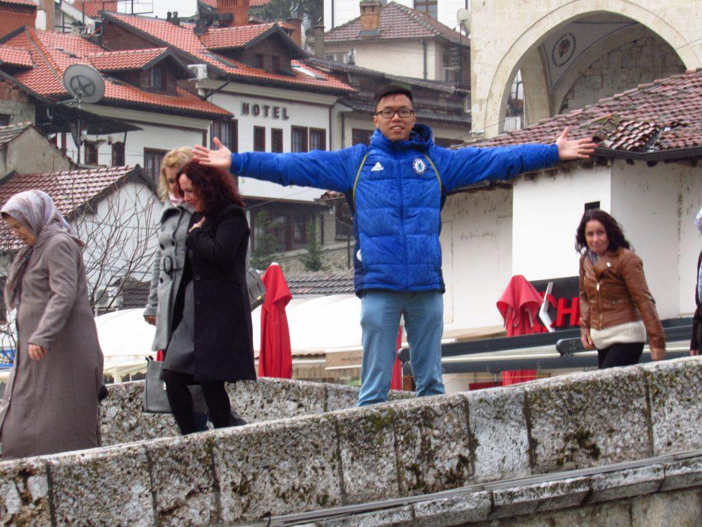 Hoi Mun Yee in Prizren