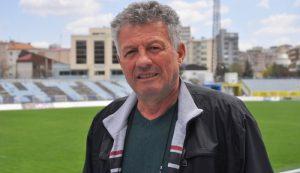 Ramiz Krasniqi, coach of Kosovo youth national team.