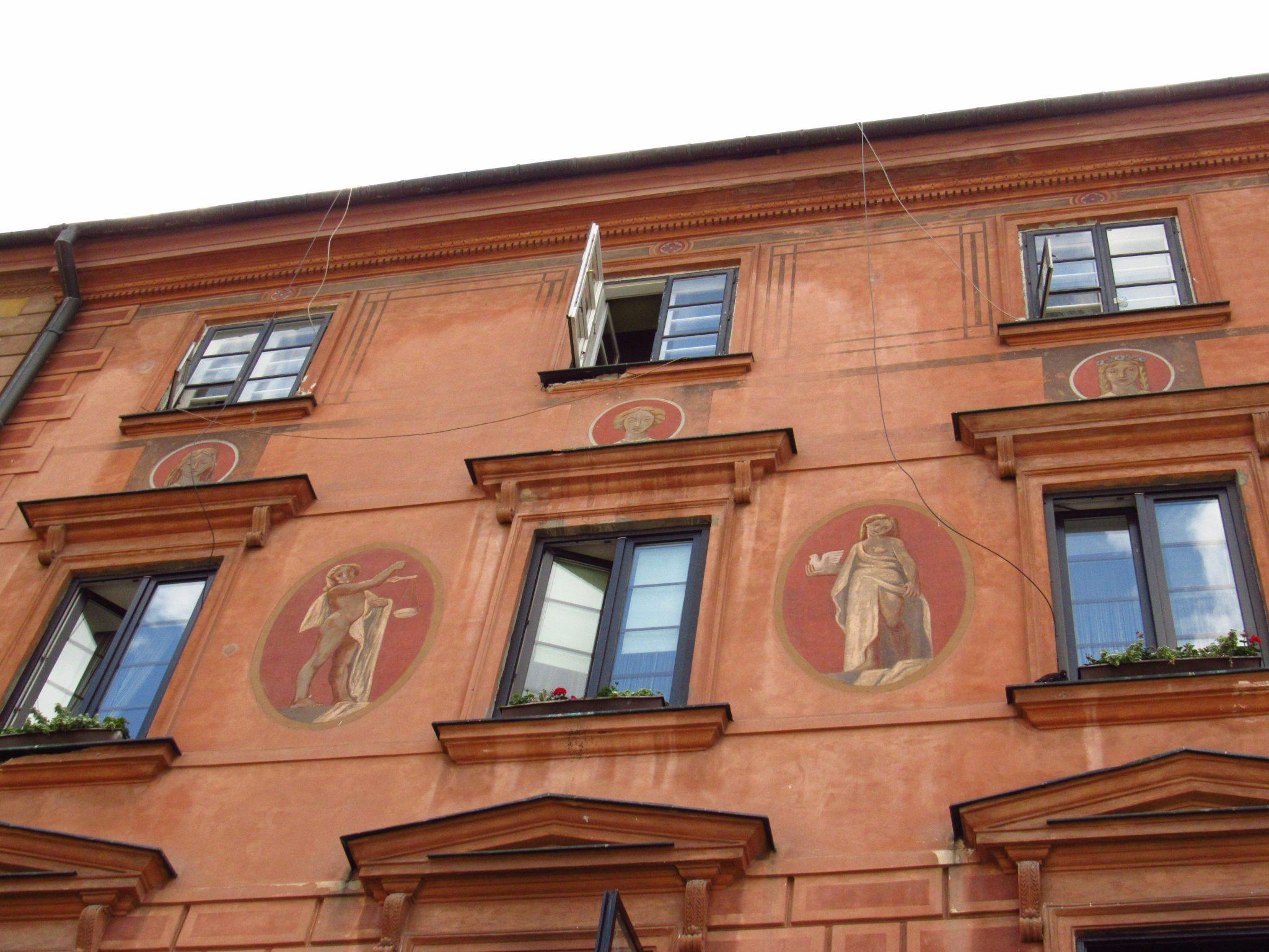 Building facade, Warsaw